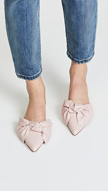 Rebecca Minkoff Alexis Bow Point Toe Flats