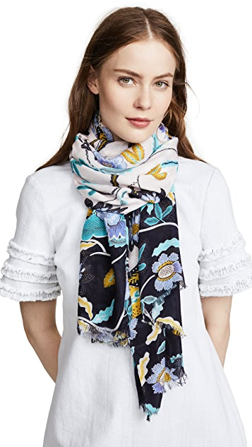 Rebecca Minkoff Floral Oblong Scarf