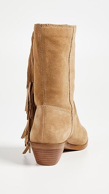Rebecca Minkoff Krissa Fringe Western Boots