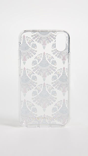 Rebecca Minkoff Fan Print iPhone X Case