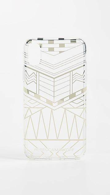 Rebecca Minkoff Geo Print iPhone X Case