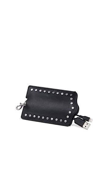 Rebecca Minkoff So Connected Luggage Tag with Cable