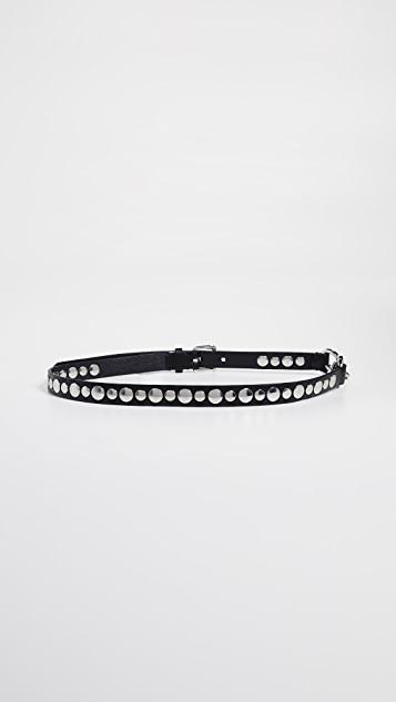 Rebecca Minkoff Everly Spring Lock Belt