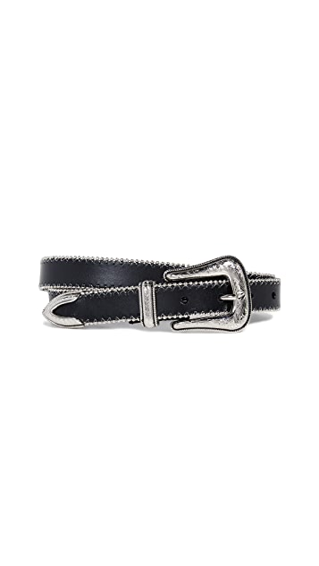 Rebecca Minkoff Belen Smooth Ball Chain Belt
