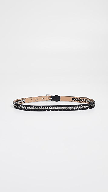 Rebecca Minkoff Smooth Chain and Studded Belt