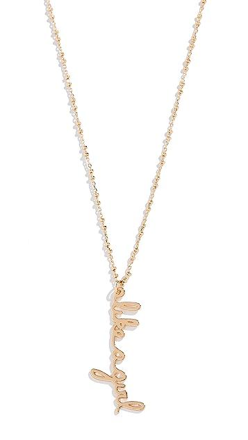 Rebecca Minkoff Charm Necklace