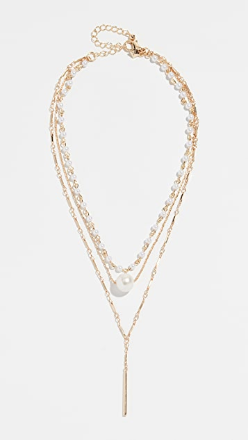 Rebecca Minkoff Sophia Solo Layered Necklace