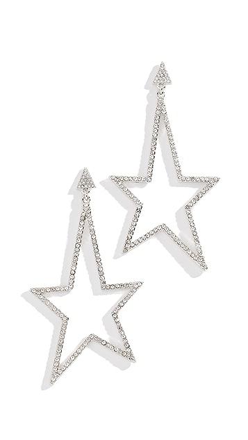Rebecca Minkoff Stargazing Drama Stone Earrings
