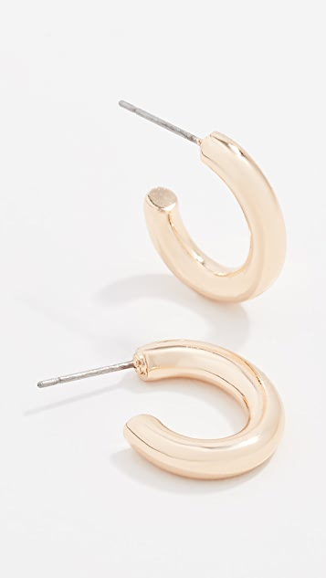 Rebecca Minkoff Baby Tubular Hoop Earrings