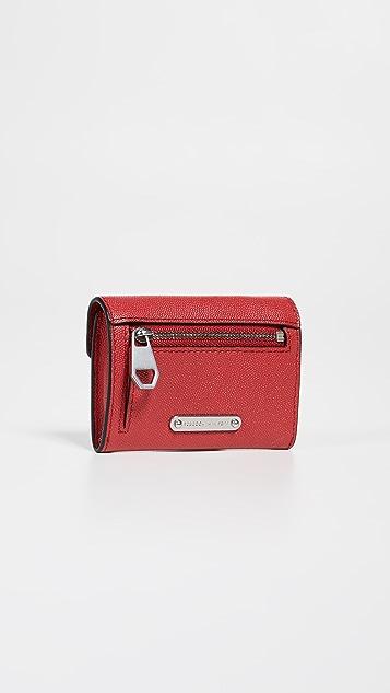 Rebecca Minkoff Olivia Bi-Fold Key Ring Wallet