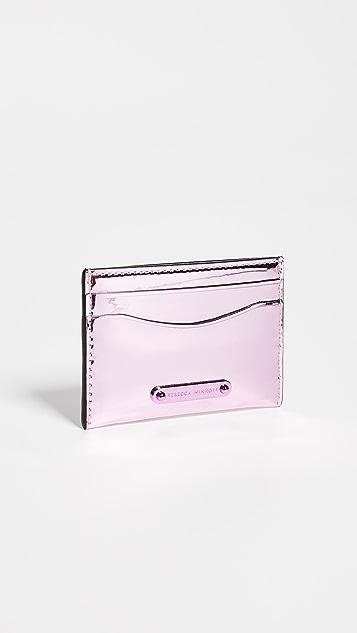 Rebecca Minkoff Mirror Metallic Card Case