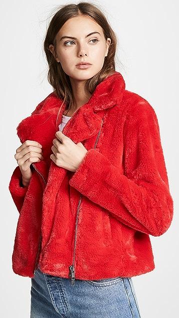 Sale alerts for  Henderson Faux Fur Jacket - Covvet