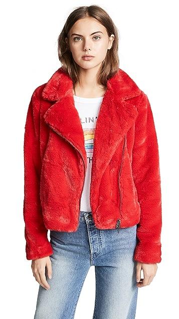 Rebecca Minkoff Henderson Faux Fur Jacket