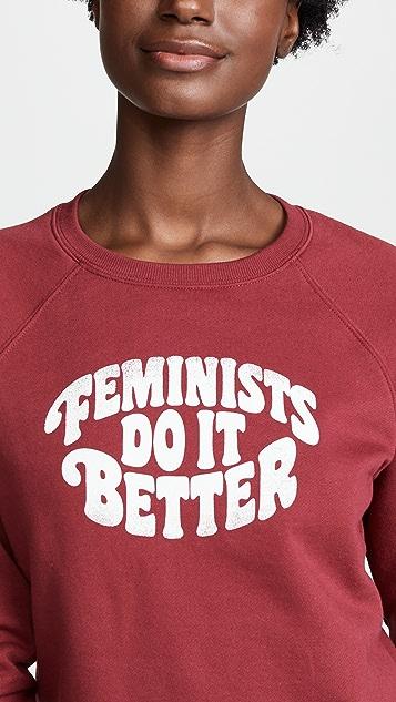 Rebecca Minkoff Feminists Jennings Sweatshirt