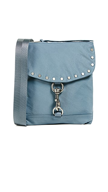 Rebecca Minkoff Nylon Flap Cross Body Bag
