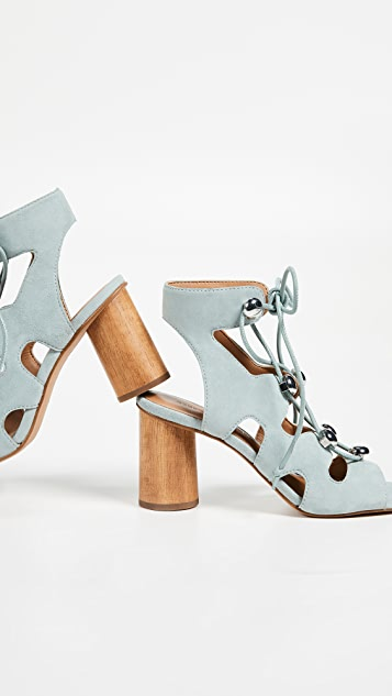 Rebecca Minkoff Adiv Block Heel Sandals