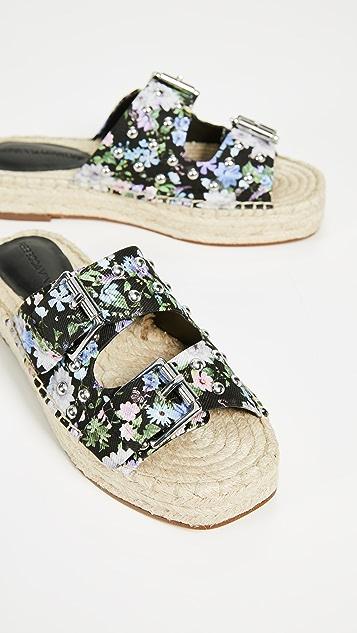 Rebecca Minkoff Jodi Double Strap Sandals