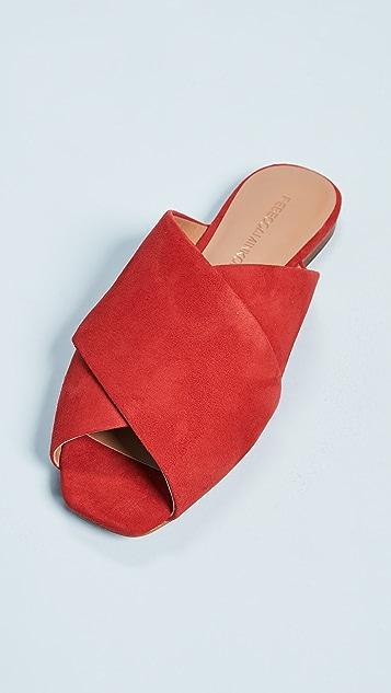 Rebecca Minkoff Anden Peep Toe Slides