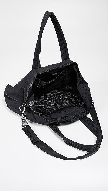 Rebecca Minkoff Washed Nylon Weekender Bag