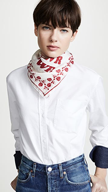 Rebecca Minkoff Girl Power Bandana