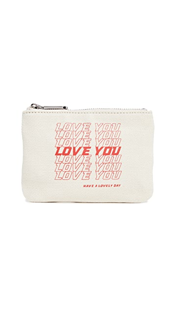 Rebecca Minkoff I Love You Betty Pouch