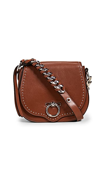 Rebecca Minkoff Маленькая джинсовая седельная сумка
