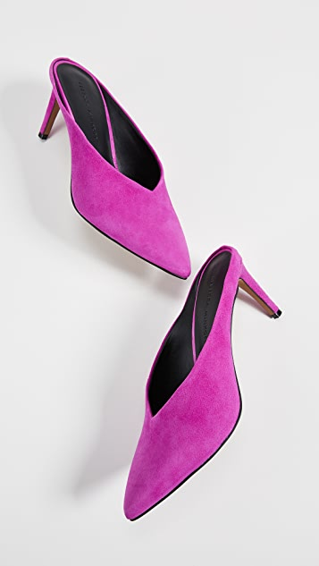 Rebecca Minkoff Graciano Point Toe Mules