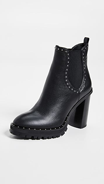 Rebecca Minkoff Edolie Block Heel Chelsea Boots