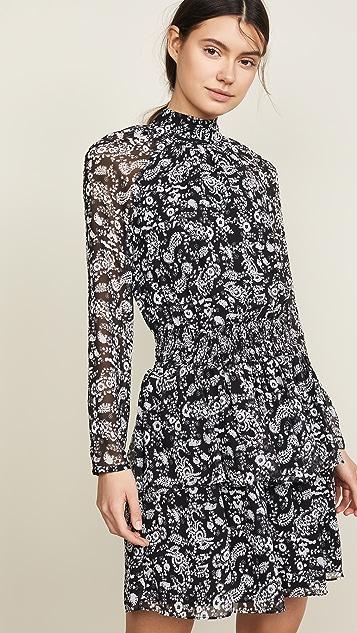 Rebecca Minkoff Zayee Dress - Black Multi