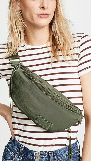 Rebecca Minkoff Nylon Belt Bag - Olive