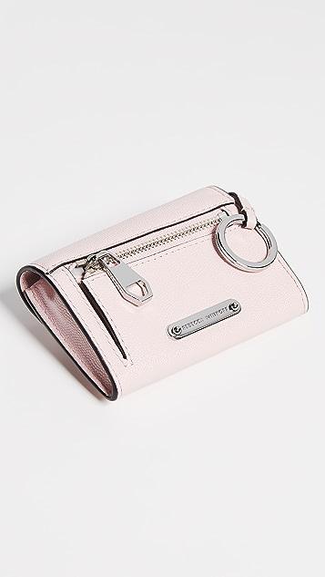 Rebecca Minkoff Olivia Bifold Key Ring Wallet