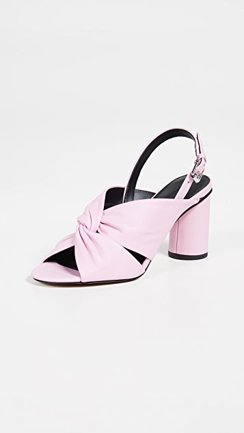 Rebecca Minkoff Agata 粗跟后带式凉鞋