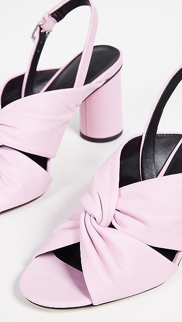 Rebecca Minkoff Agata Block Heel Slingback Sandals