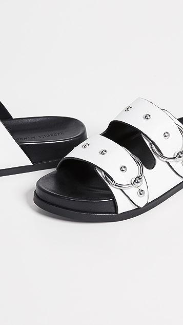 Rebecca Minkoff Vachel Double Strap Slides