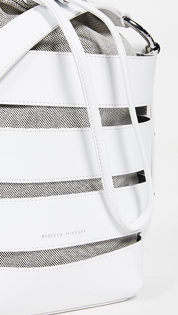 Rebecca Minkoff Решетчатая трансформирующаяся сумка-ведро