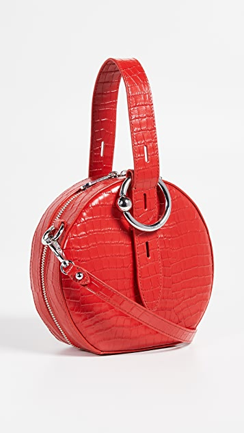 Rebecca Minkoff Kate Circle Bag - Tomato