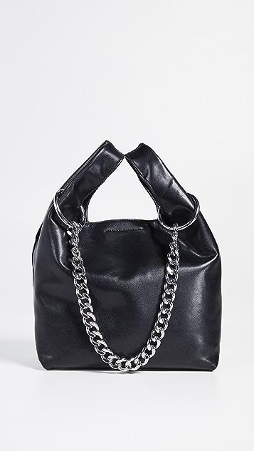 Rebecca Minkoff Объемная сумка с короткими ручками для покупок с цепочкой Karlie