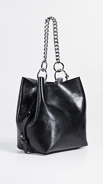 Rebecca Minkoff Kate Medium Convertible Bucket - Black