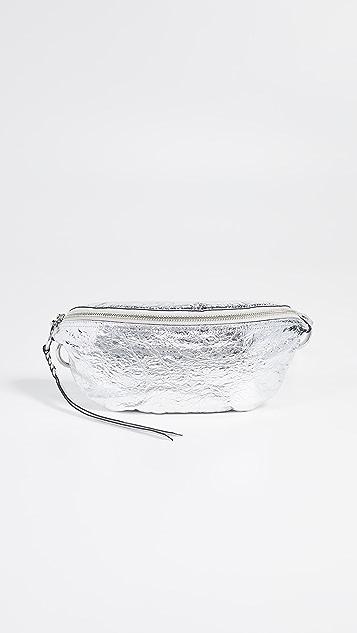 Rebecca Minkoff Bree Belt Bag - Silver