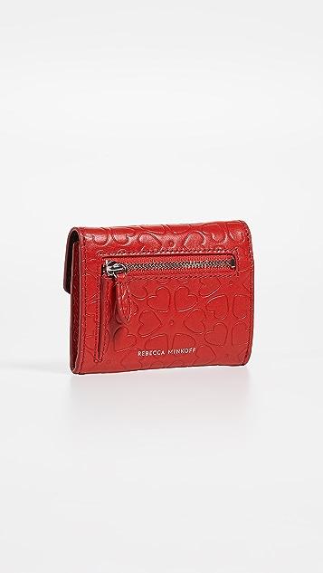 Rebecca Minkoff Bi-Fold Key Ring Wallet