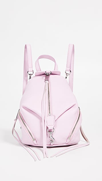 Rebecca Minkoff Convertible Mini Julian Backpack - Light Orchid