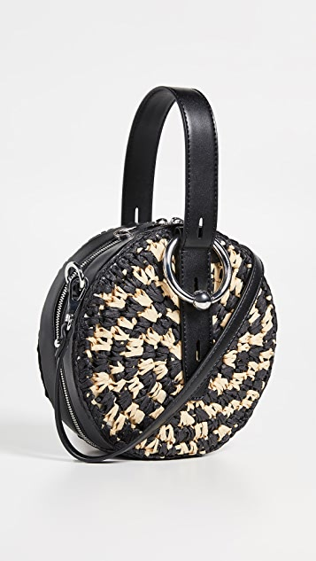 Rebecca Minkoff Kate Circle Bag - Natural/Black