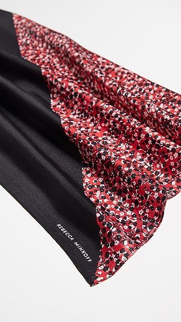 Rebecca Minkoff Квадратный шелковый шарф Mini Pop