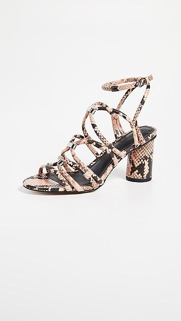 Rebecca Minkoff Apolline Too Strappy Sandals