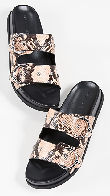 Rebecca Minkoff Vachel Too Double Strap Slides