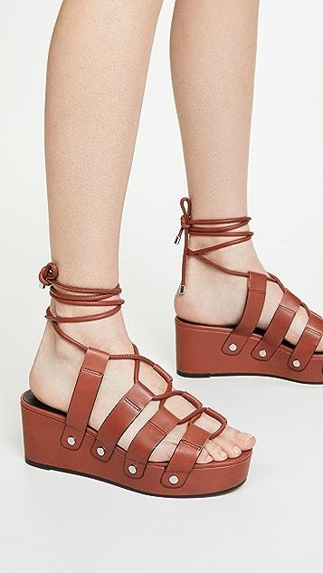 Rebecca Minkoff Iven Strappy Sandals