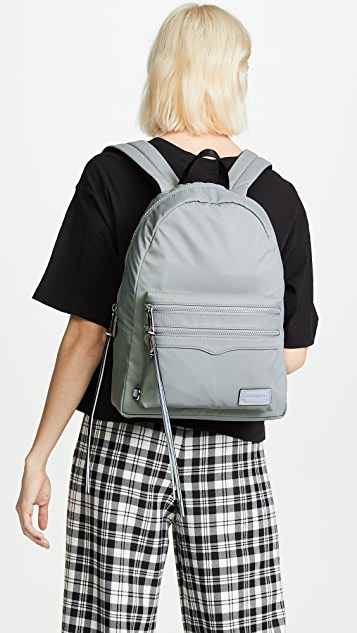 Rebecca Minkoff Large Two Zip Backpack