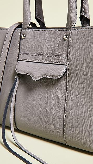 Rebecca Minkoff Миниатюрная объемная сумка с короткими ручками Mab