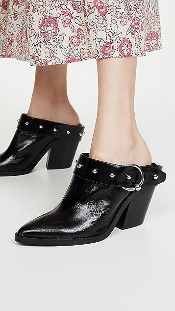 Rebecca Minkoff Sallest 粗跟穆勒鞋