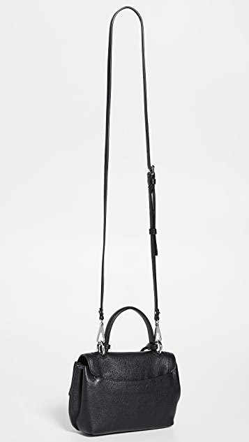 Rebecca Minkoff Миниатюрная сумка-портфель с клапаном Stella